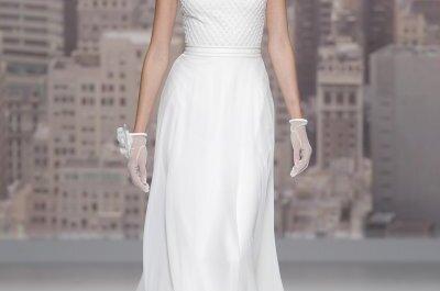 Brautkleider von Rosa Clará auf der Barcelona Bridal Week: Fühlen Sie sich wie ein Hollywood-Star!