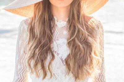 Tendência à lupa: noivas de chapéu, sim ou não?