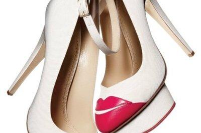 Sapatos de noiva coloridos e divertidos! By Charlotte Olympia