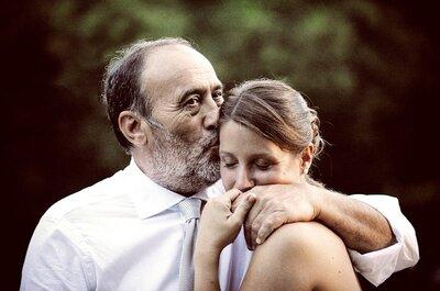 15 motivi per cui ogni sposa vuole suo padre accanto, ora e sempre