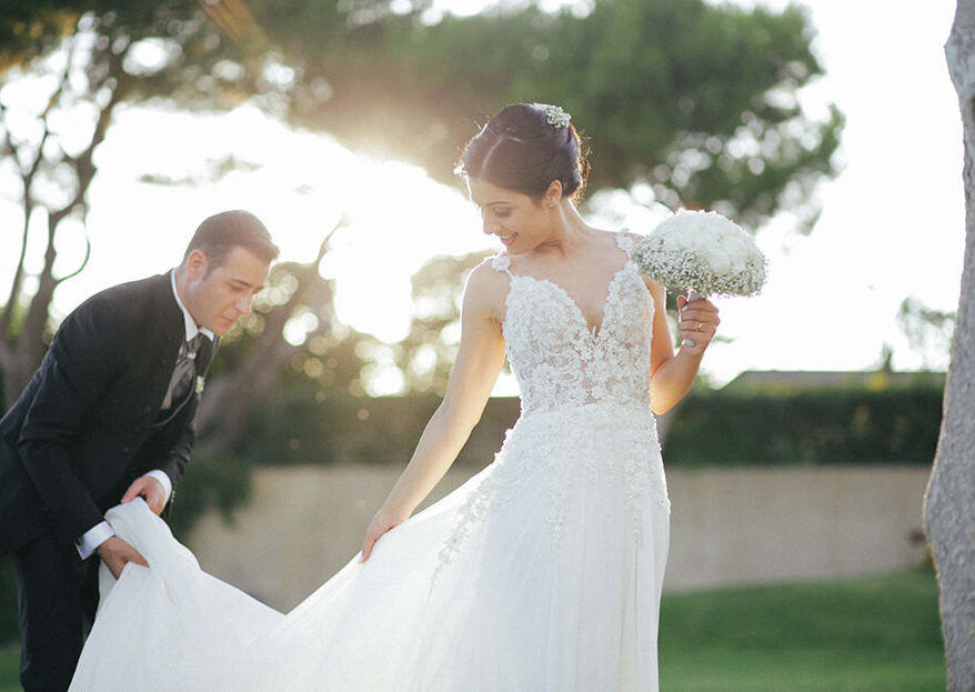 'With love and dedication': the Italian wedding photography of Marco Annunziata.