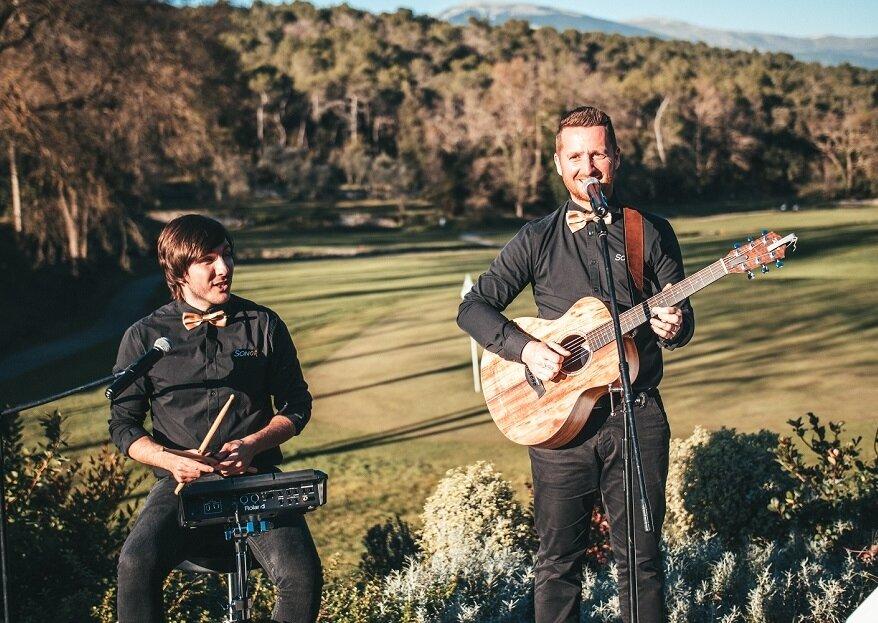 Musiciens live le jour J : ambiance conviviale et festive garantie avec Sonor !