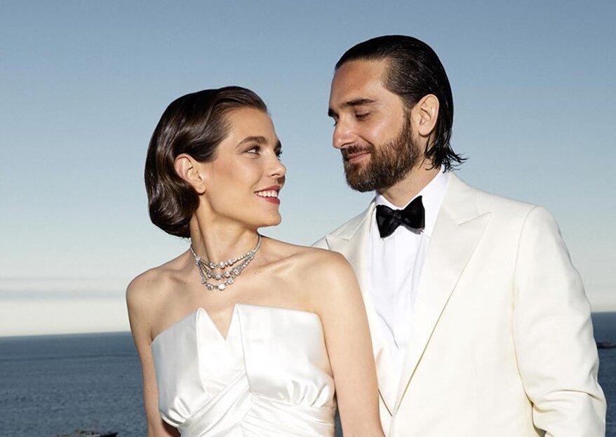 Hochzeit in Monaco: Charlotte Casiraghi hat Ja gesagt