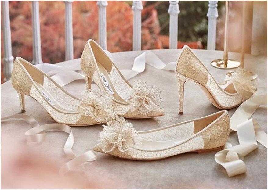 5 consejos para que tus zapatos de boda no te destrocen los pies