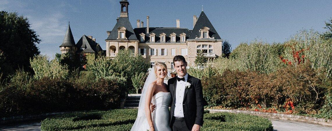 Eva et Billy : Un joli mariage en Dordogne pour des Irlandais amoureux de la France