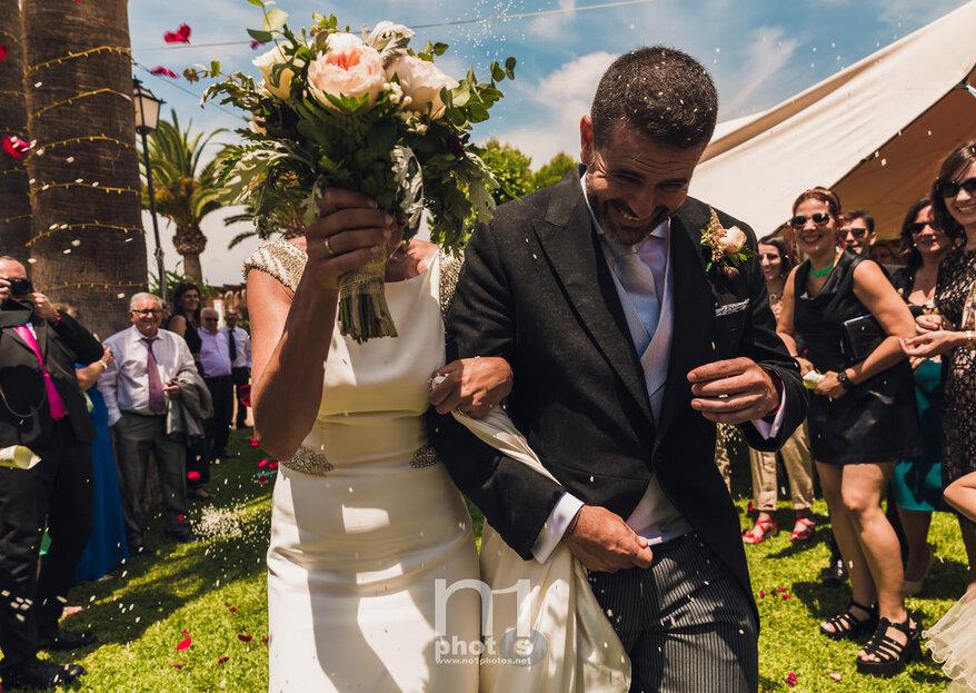 Compartiendo aficiones y vida: la boda de Lucía y Ricardo