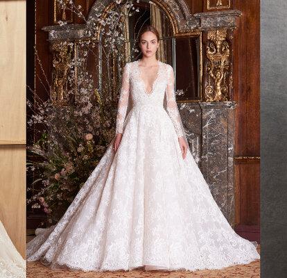 Bruidsjurken Met Lange Mouwen Liefde Op Het Eerste Gezicht