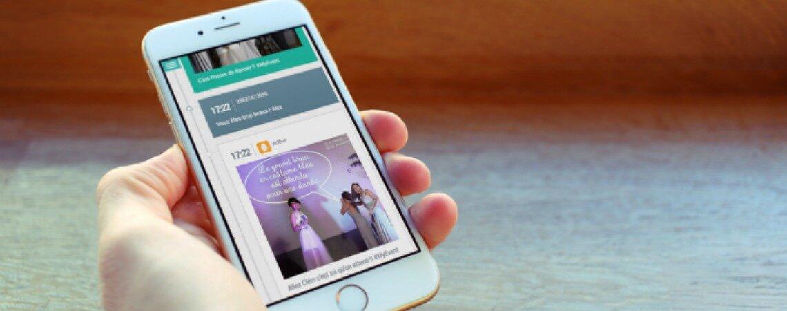 Interactive Wall : Surprenez vos invités avec un livre d'or interactif