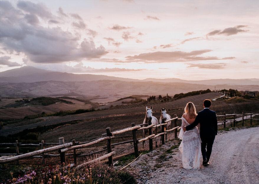 Un tour delle location più belle in Italia nelle quali potersi sposare!