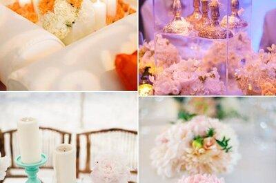 Decoração de casamentos: a iluminação das mesas