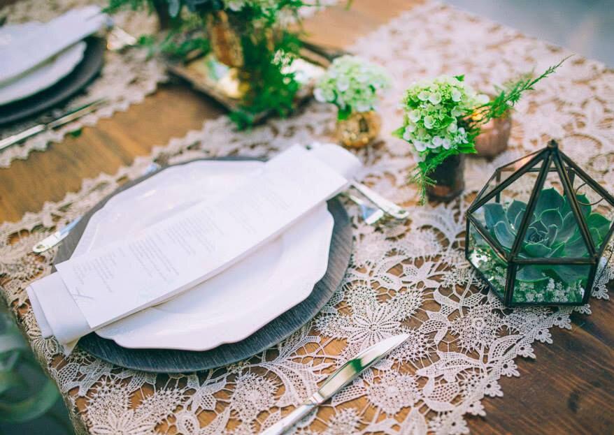 Como escolher as toalhas de mesa para o meu casamento em 5 passos