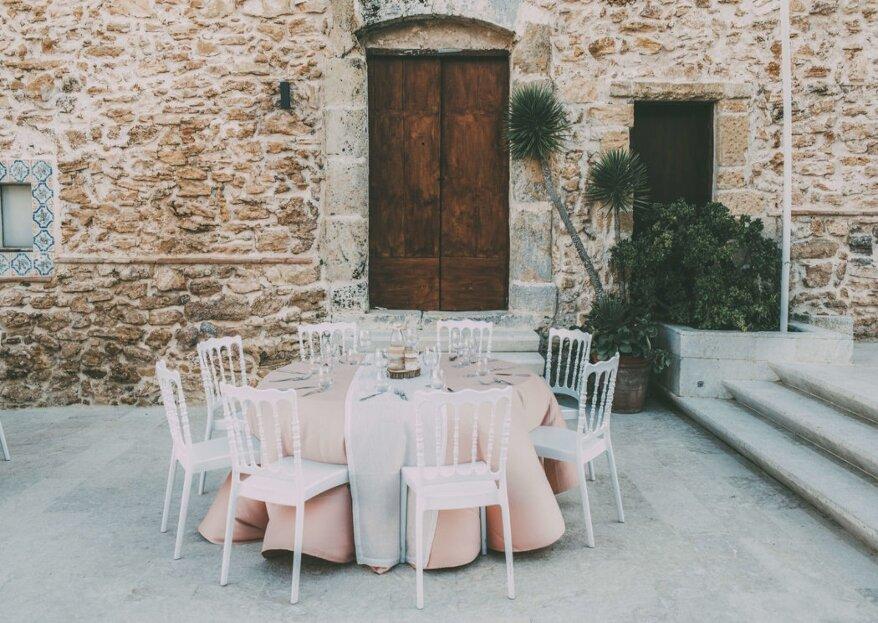 Baglio Regia Corte: una location dove sposarsi tra le caratteristiche tipiche della tradizione nobiliare siciliana