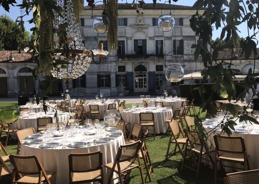 A Romantic Wedding in Style: Get Married At Hotel Villa Condulmer