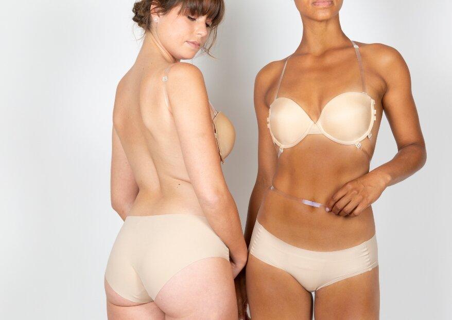 Oui by GILSA Paris, une collection de lingerie invisible et gainante dédiée aux mariées