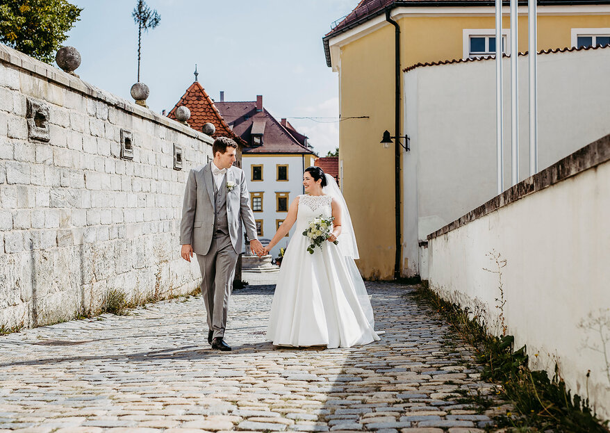 Heiraten in der Heimat – Marina & Tim feierten eine wunderbare Hochzeit im Kreise ihrer Liebsten