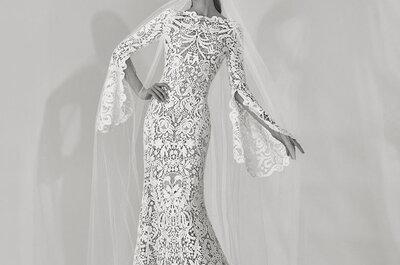Une mariée sensuelle et romantique avec la guipure