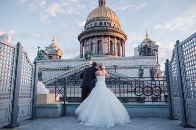 Сказка в райском саду: свадьба Ольги и Андрея