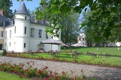 Pour un mariage de conte de fées, craquez pour l'incroyable Château Saint Just dans l'Oise