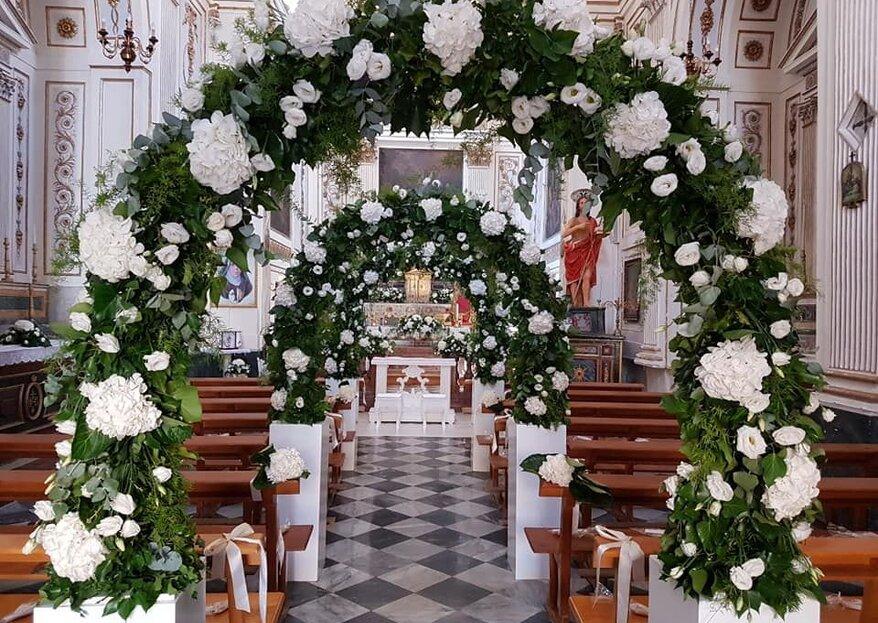 Salvo Flowers: l'eleganza di decorazioni floreali che arrivano dritte al cuore