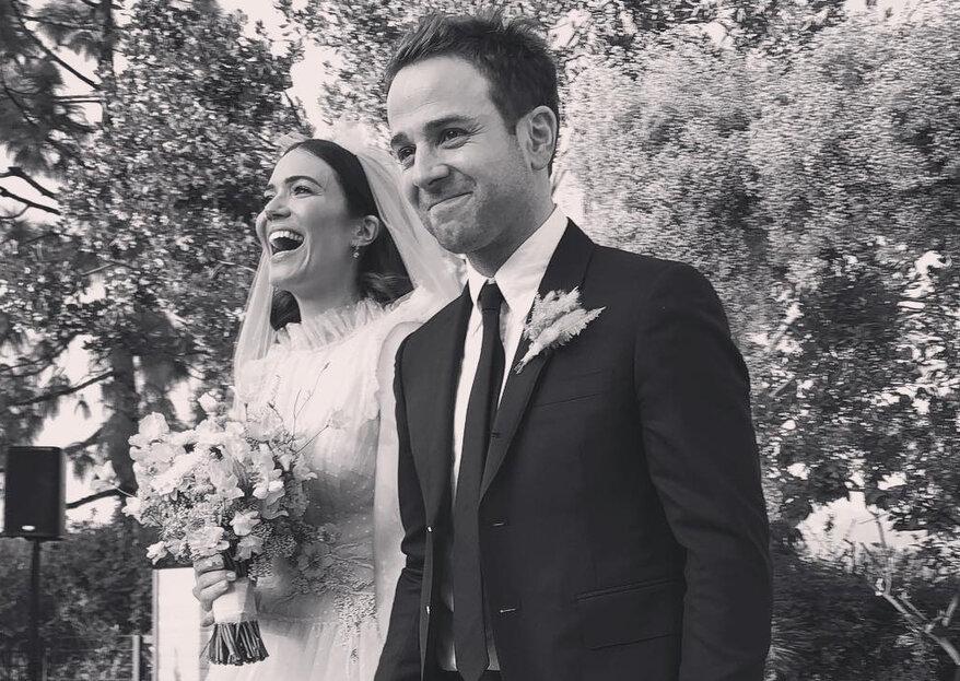 """Mandy Moore, estrela de """"This Is Us"""", casou numa cerimónia intimista"""