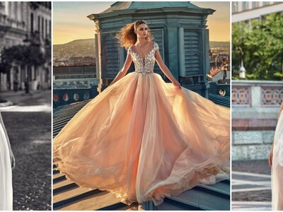 Galia Lahav's latest designs hot from the catwalk: we love these sexy and sophisticated wedding dresses!
