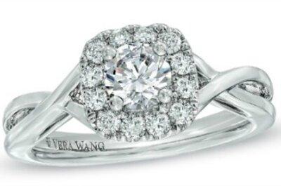 Love, la nueva colección de anillos de compromiso de Vera Wang