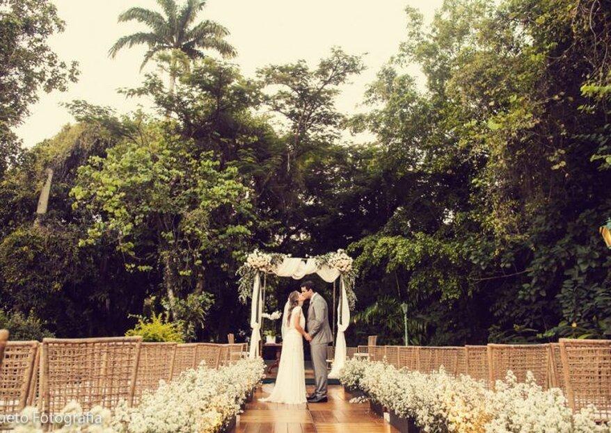 Villa Riso: casarão histórico em meio à natureza ideal para casamentos inesquecíveis