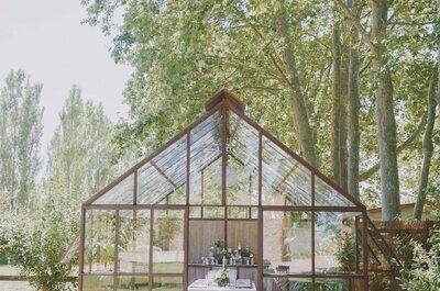 Casarse en un invernadero es lo último en bodas, ¿sabes por qué?