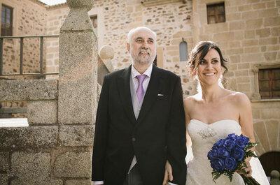 Fotos con los padres de los novios: Una mirada especial a la boda