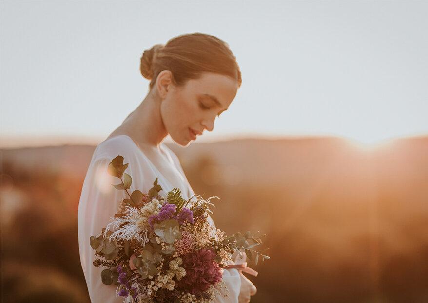 Flores en el Columpio te ofrece un ramo de novia espectacular y único