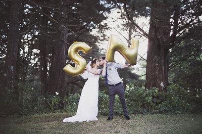 Real Wedding: Una boda 100% hipster con hermosos detalles DIY ¡y muchos tatuajes!