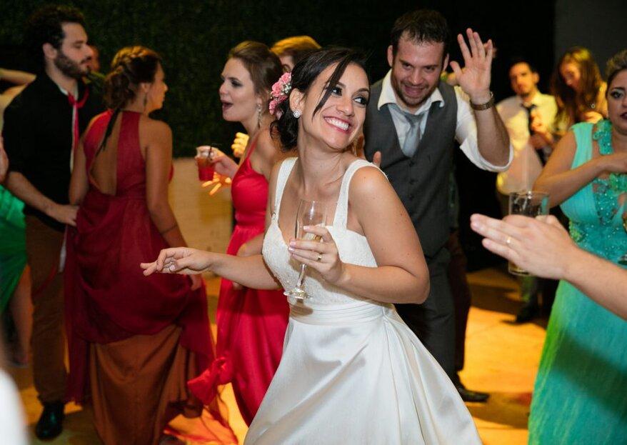 Ideias divertidas para agitar a pista de dança do seu casamento