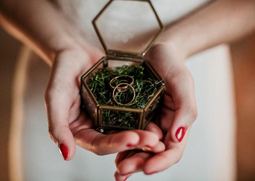 Como organizar um casamento ecológico em 5 passos