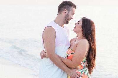 """Declaração de amor de marido à mulher """"cheia de curvas"""" está a enternecer as redes sociais"""