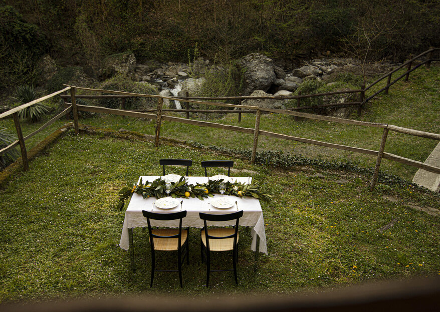 Martina Di Palma eventi green, per un ricevimento nuziale all'insegna dell'amore, anche della natura!