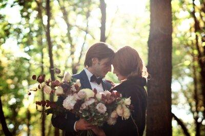 Свадьба в лесу, в окружении природы!