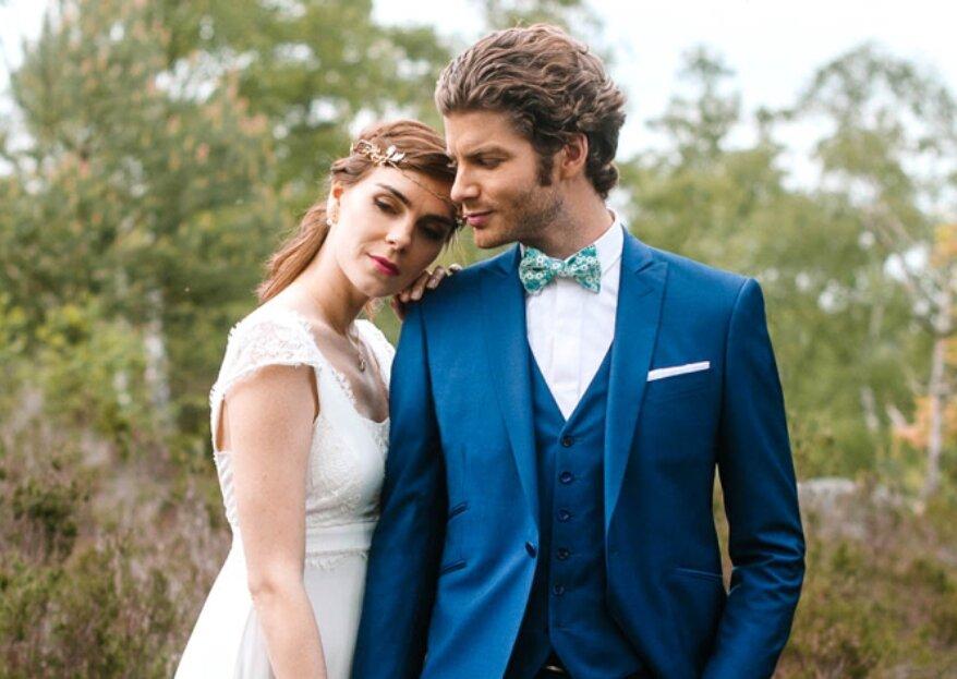 Costumes de mariés Samson : du sur-mesure à prix doux