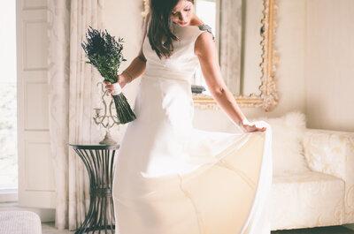 Vestido de noiva com cauda: 7 estilos diferentes para você escolher!