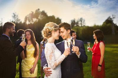 Come evitare che i tuoi invitati di nozze alzino troppo il gomito