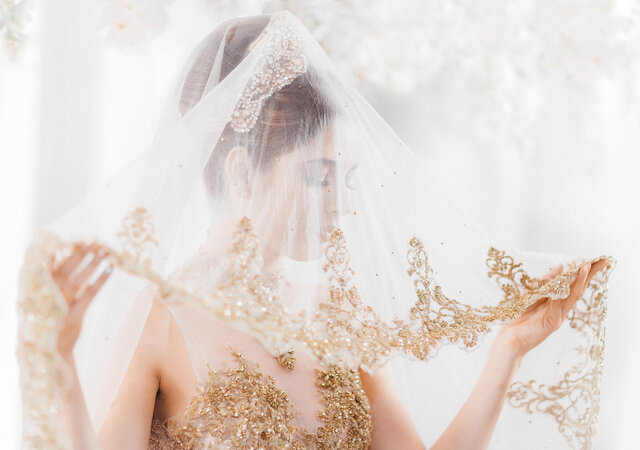 An Ethereal Styled Shoot Inspired by Parchment and Gold