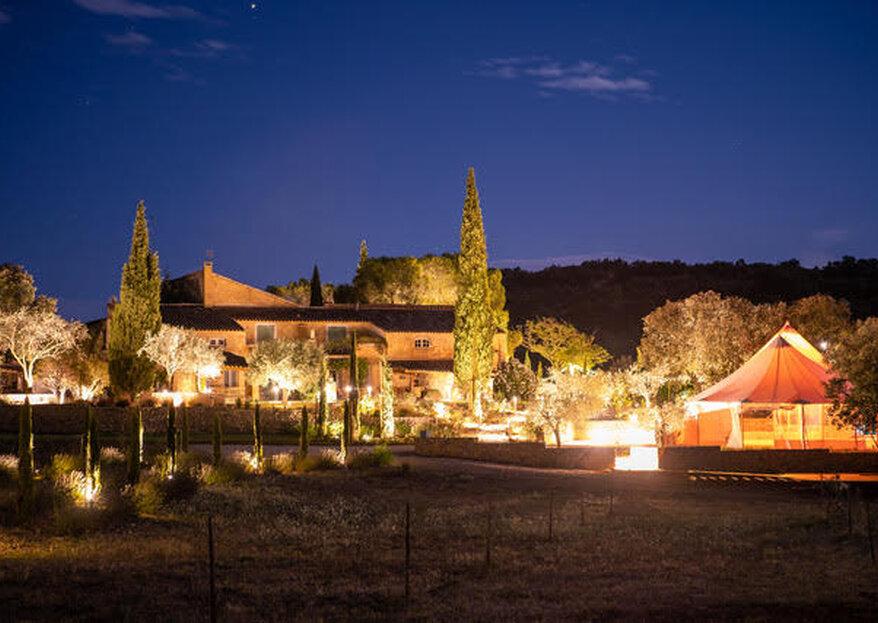 Le Domaine Le Grand Belly : un bel écrin authentique et naturel en Provence pour un grand jour inoubliable