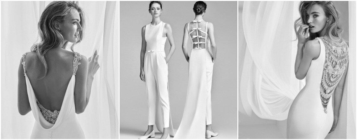 Robes de mariée dos nu : vous allez toutes les vouloir !