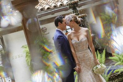 Real Wedding: Toques metálicos y opulencia en la boda de Sidney y Aaron en Hacienda San Ángel, Puerto Vallarta