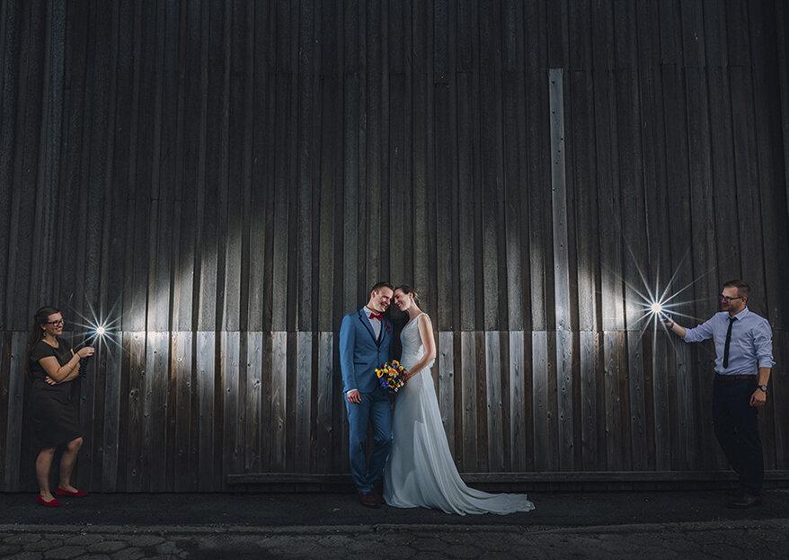 Así se logran las más hermosas fotos de matrimonio. ¡Conoce los secretos!