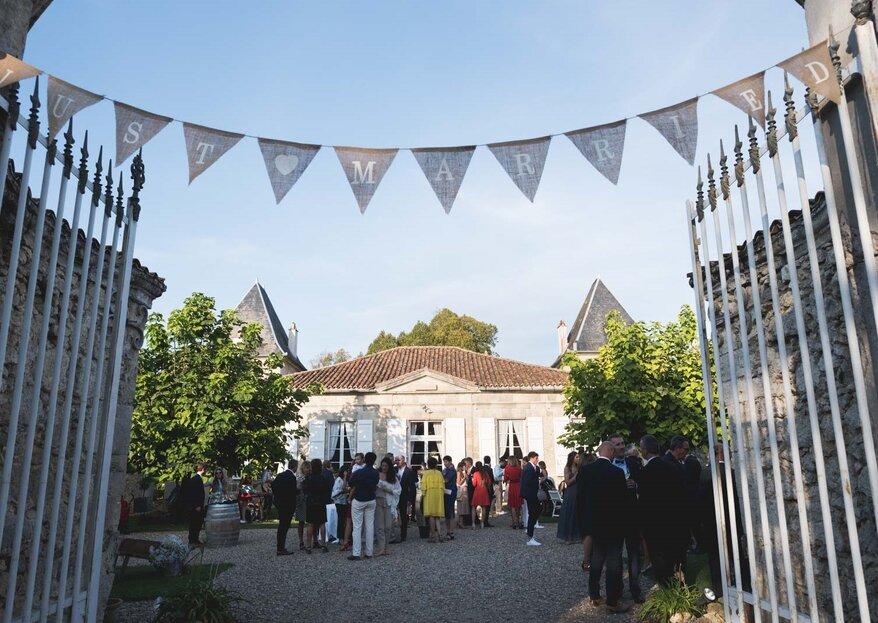 Organisez votre mariage champêtre dans le Sud-Ouest au Château La Hitte