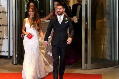 Boda Leo Messi y Antonella Roccuzzo. Credits: Cordon Press