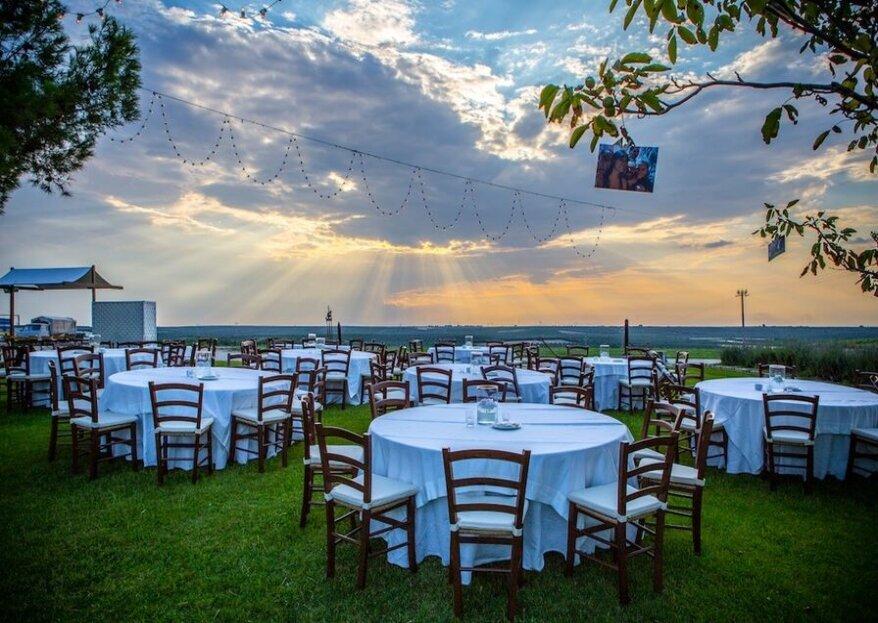 Fiorenta.it curerà ogni dettaglio delle nozze, dalla location al menù nuziale che avete sempre sognato!