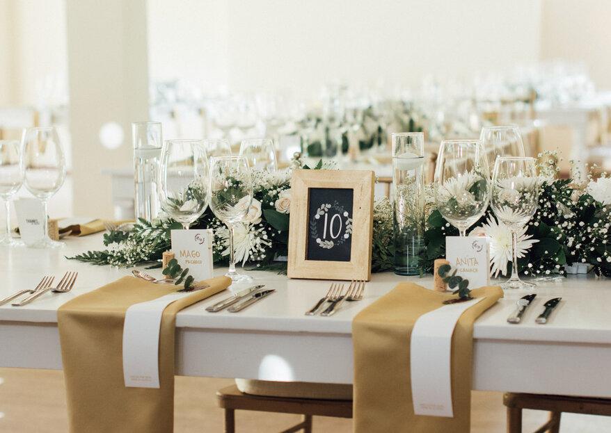 Cómo tener una boda minimalista: 5 elementos y ¡lo conseguirás!