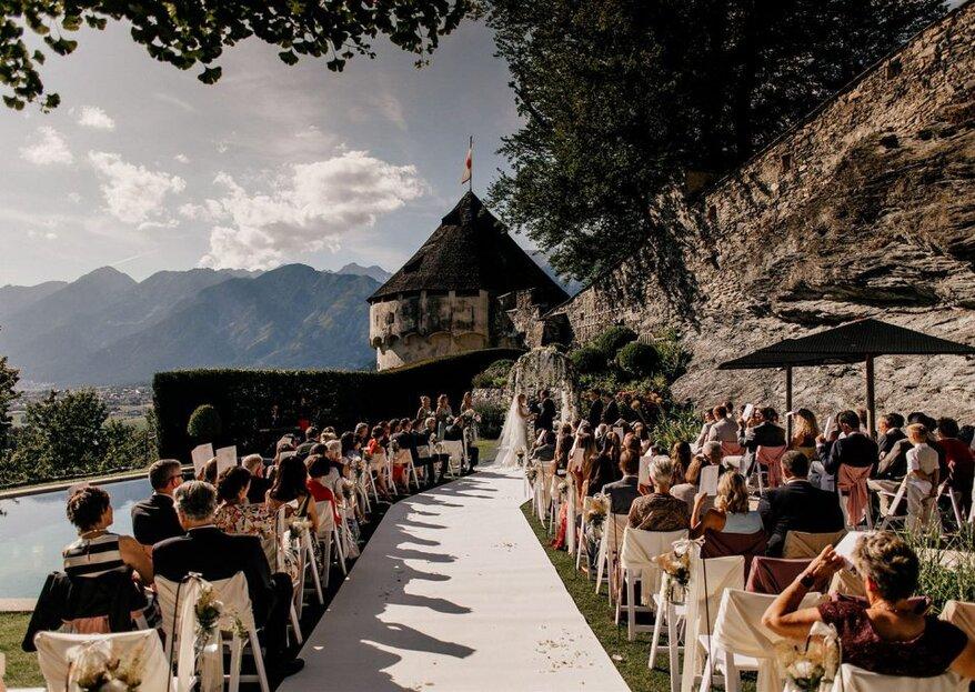 Atemberaubende Schlosshochzeit in den Tiroler Bergen