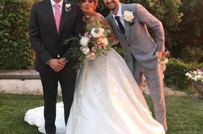 As primeiras fotografias do casamento de Andreia Rodrigues e Daniel Oliveira